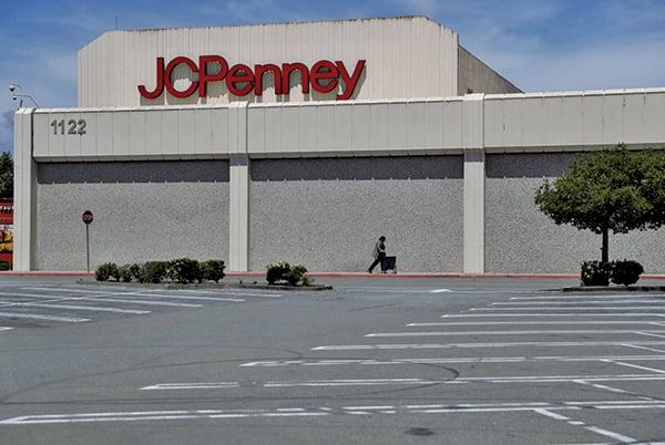 美國百年老店、大型連鎖零售商傑西潘尼(J.C. Penney)申請破產。(Getty Images)