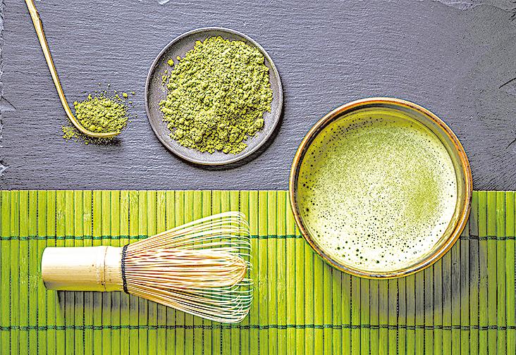 抹茶同時具備迷人的顏色、香氣、風味與營養,令許多人著迷。