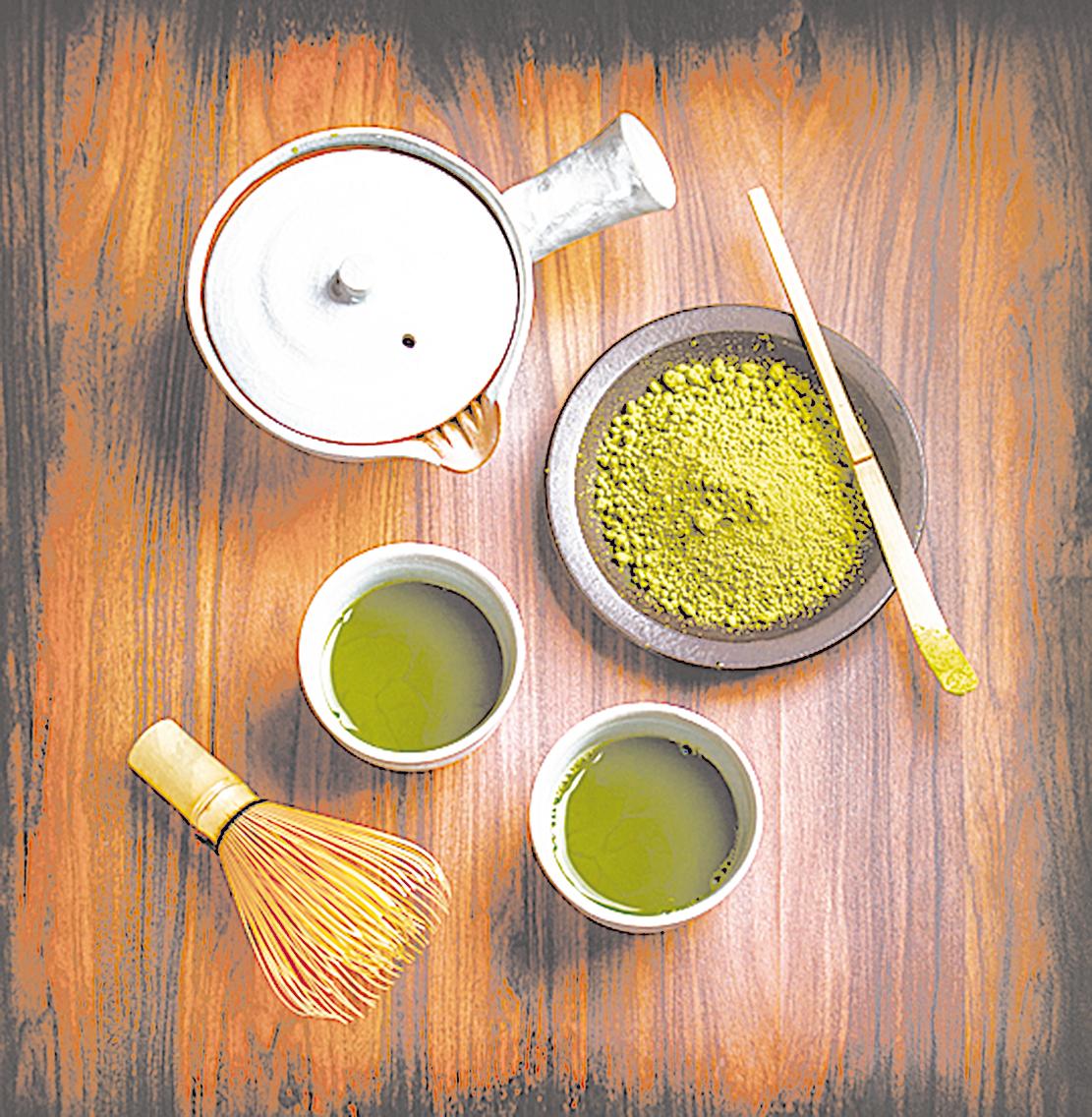 抹茶源於隋朝,在唐、宋間達到頂峰。圖片中左下角的「茶筅」,就是在宋朝流傳至日本的茶器。