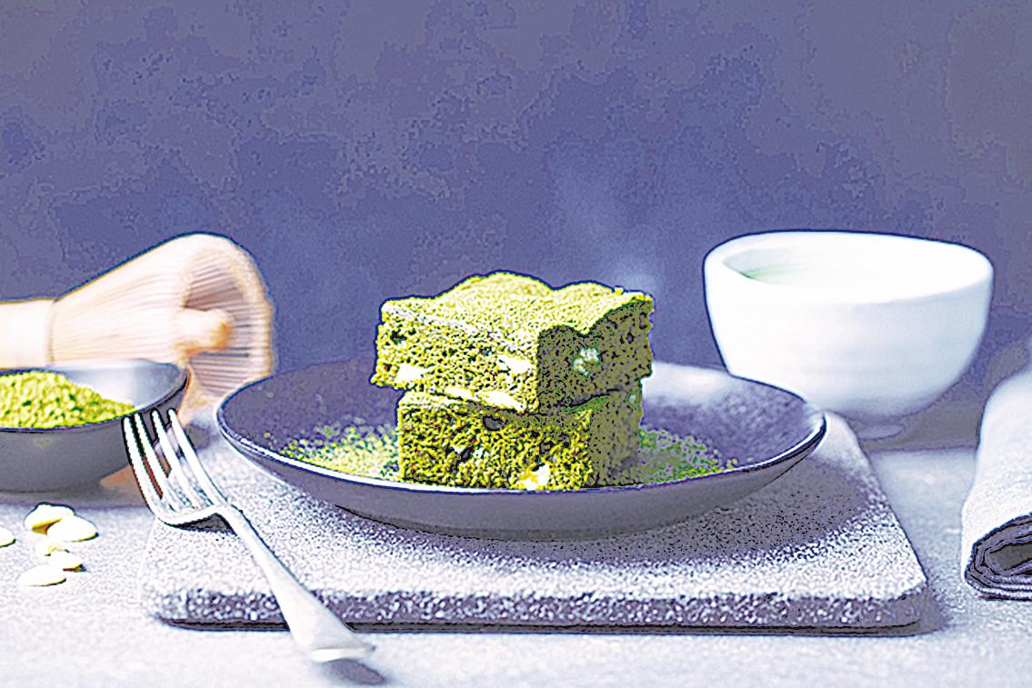 在日本,各種抹茶風味的糕點都十分盛行。
