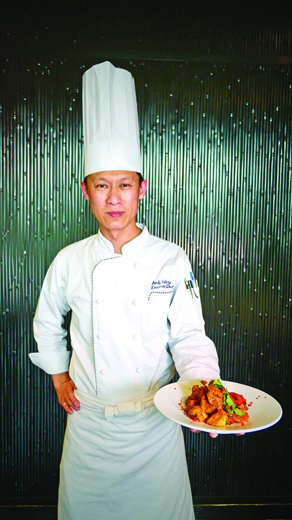 台灣國宴主廚王添滿。