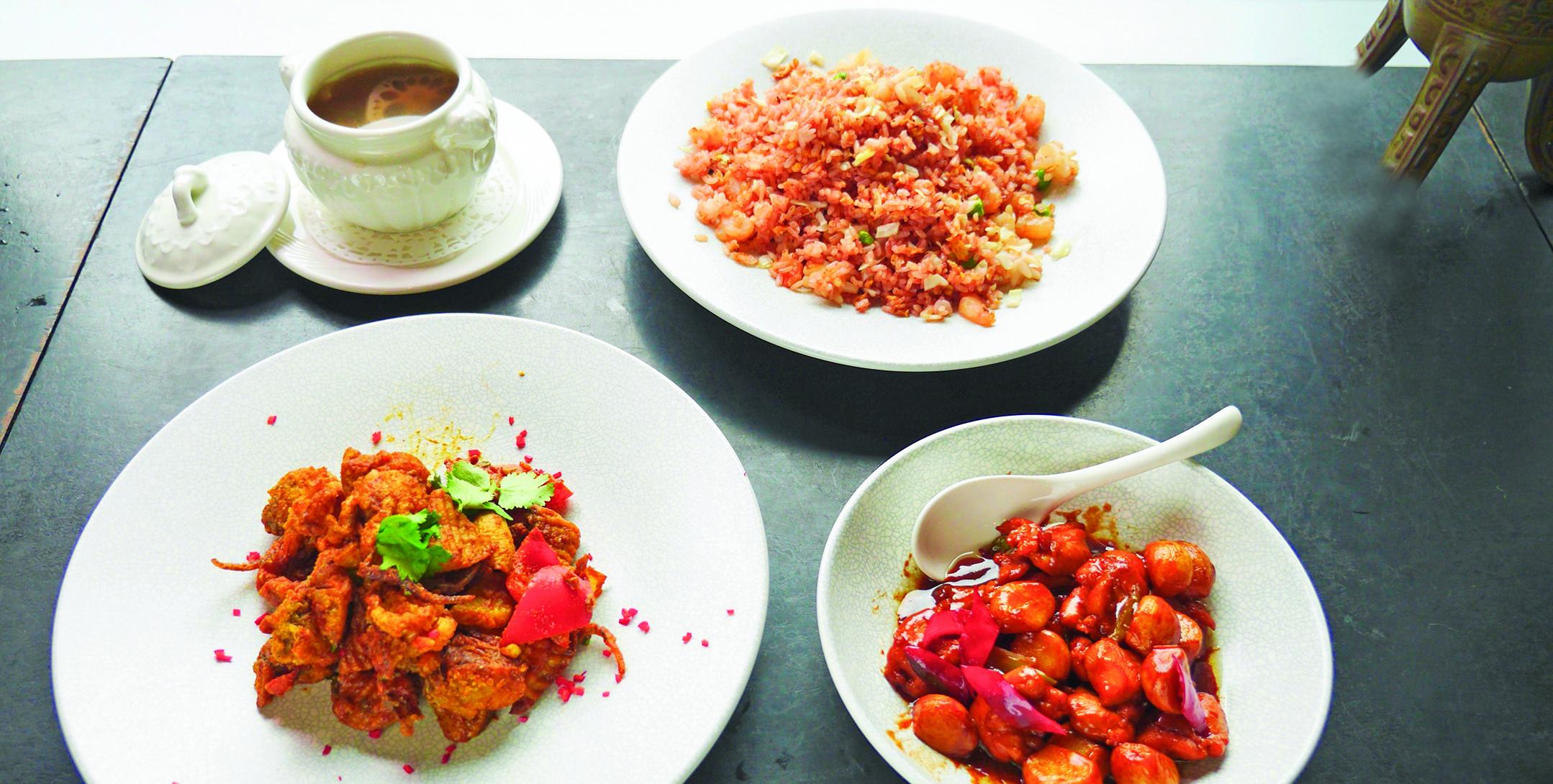 豐盛又營養的三道菜,加上一道清淡的雞湯,讓你在家也能吃得美味健康。