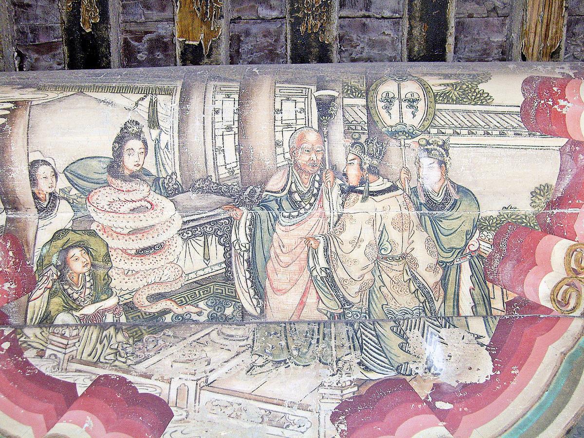 《白蛇傳》繪畫(Shizhao/ 維基百科)