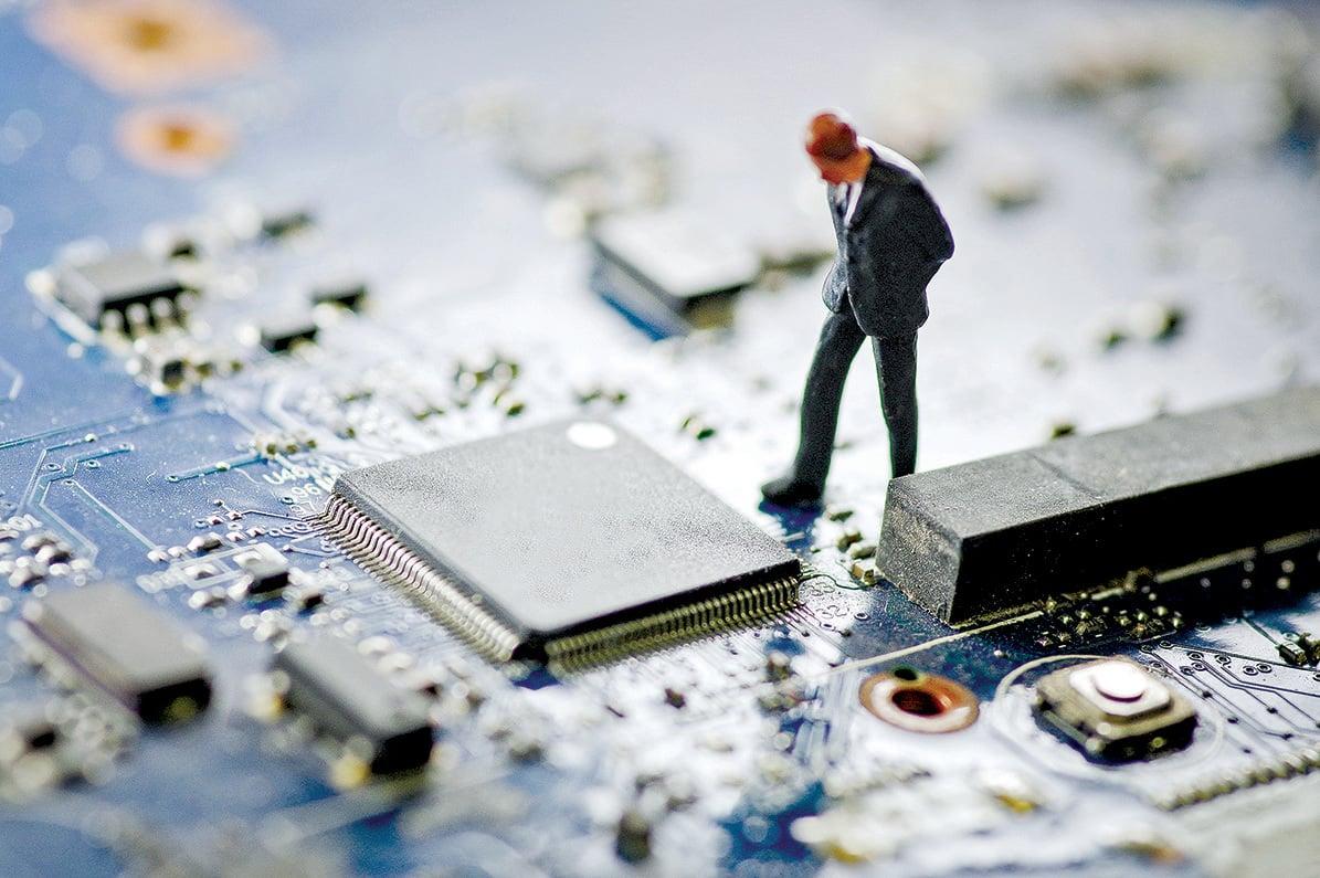 芯片雖小,卻是一個國家創新和技術能力的集中體現。(大紀元資料室)