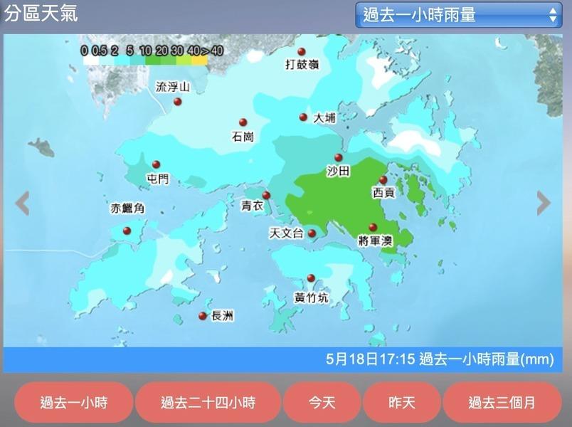 預料強陣風吹襲香港  本周天氣將持續不穩定