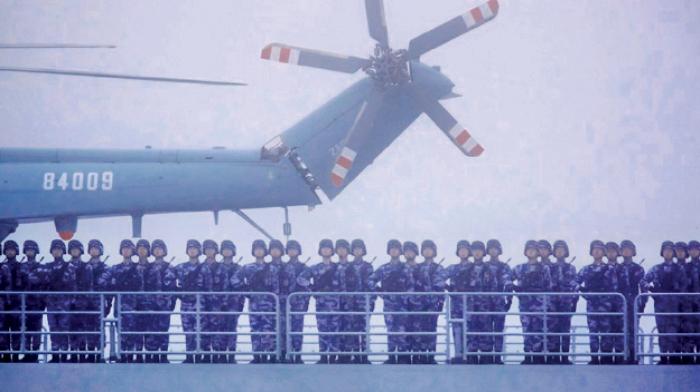防政敵反習?渤海實彈軍演  衛戍司令被免職