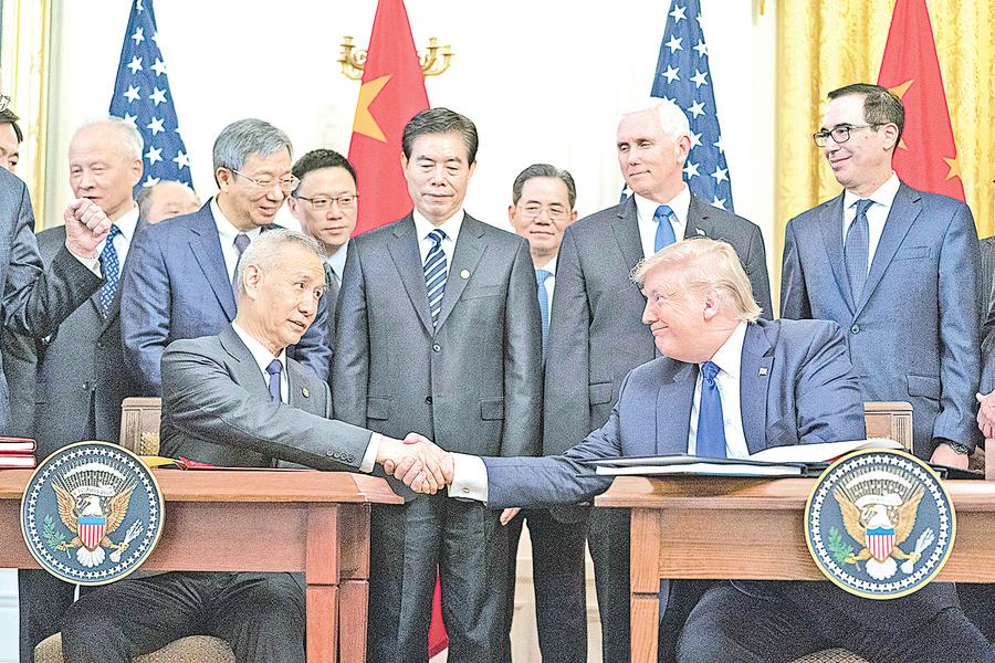 中美第一階段協議或夭折