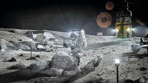 打造載人登月系統  NASA與三家太空公司合作
