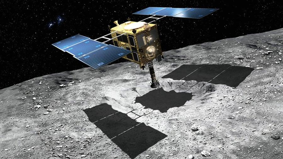 探測器隼鳥2號發現小行星曾被太陽烤焦
