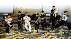 武術在香港得以承傳