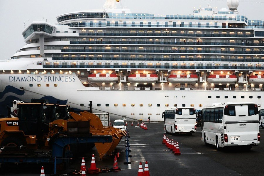 「鑽石公主號」遊客下船17天 仍檢測到病毒