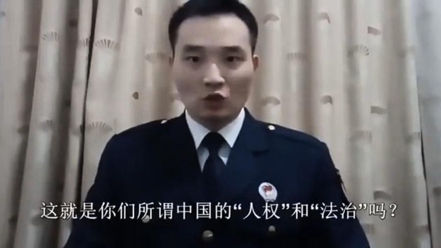 大陸退役士官拍片 翻牆痛罵中共
