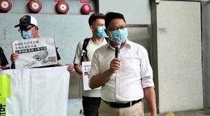 民政署擅自更新旺角天眼 區議員朱江瑋:香港逐漸大陸化