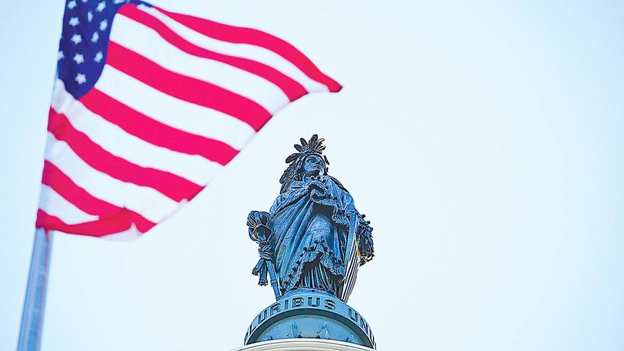 從美國國會議員授贈 法輪功國會山國旗說起