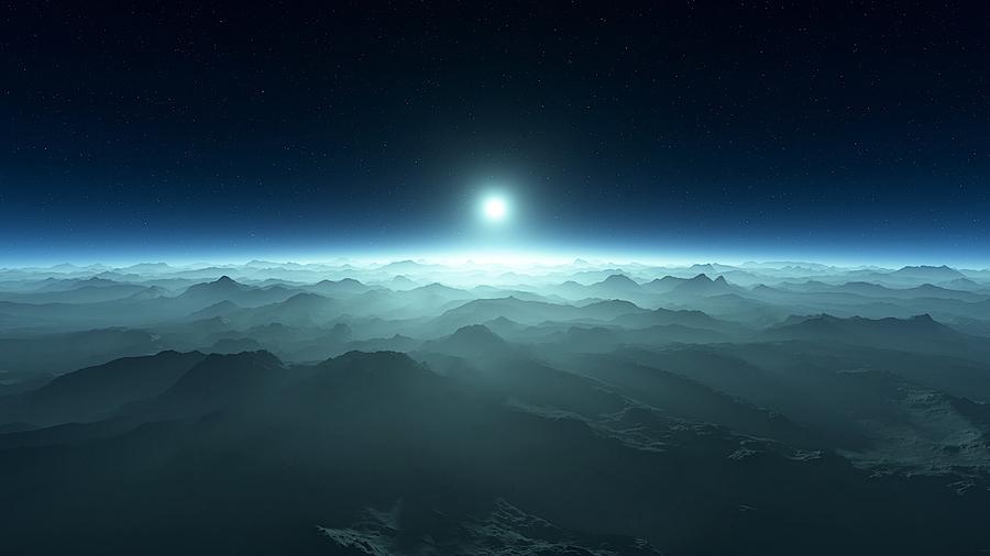 白矮星周圍岩石行星或隱藏外星生命
