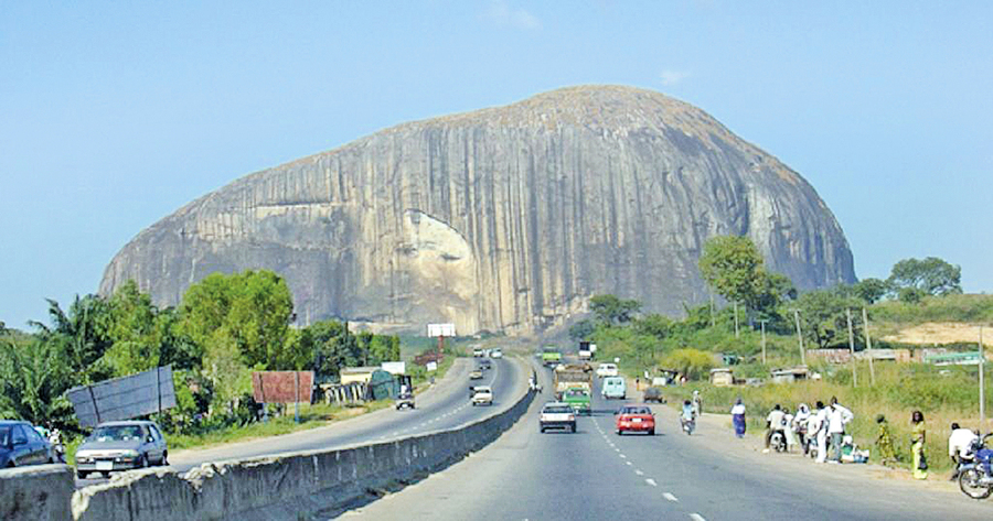 尼日利亞 祖瑪岩