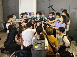 記協及攝記協代表與鄧炳強會面  鄧個人致歉 沒具體承諾停警不當行為