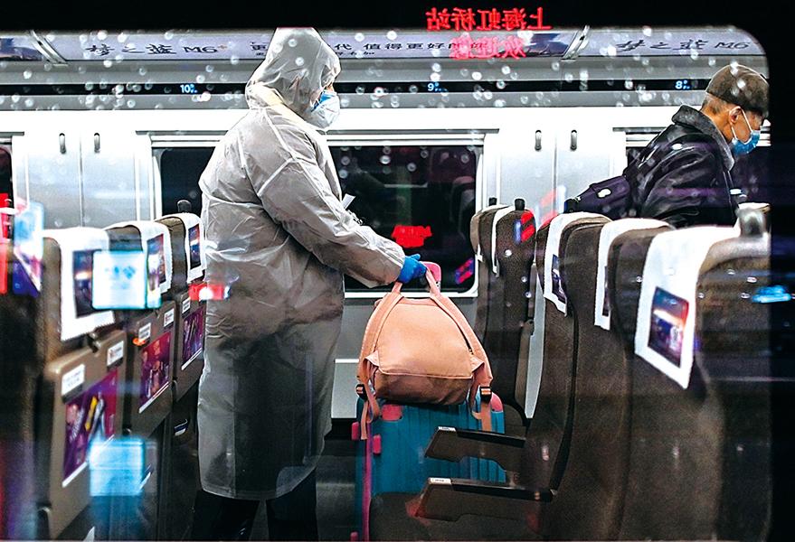 上海新增1確診病例 民恐慌