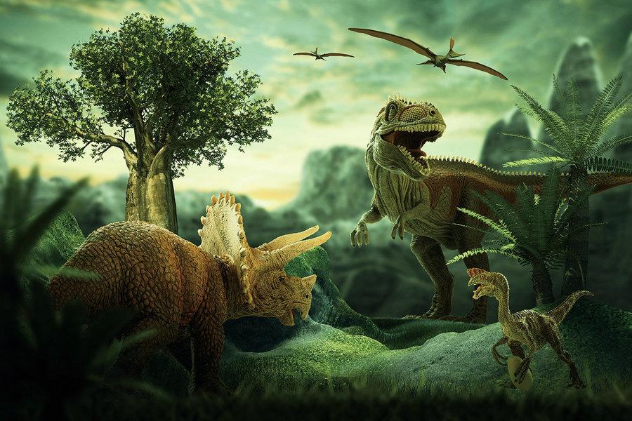 侏羅紀公園錯了:恐龍非群獵動物