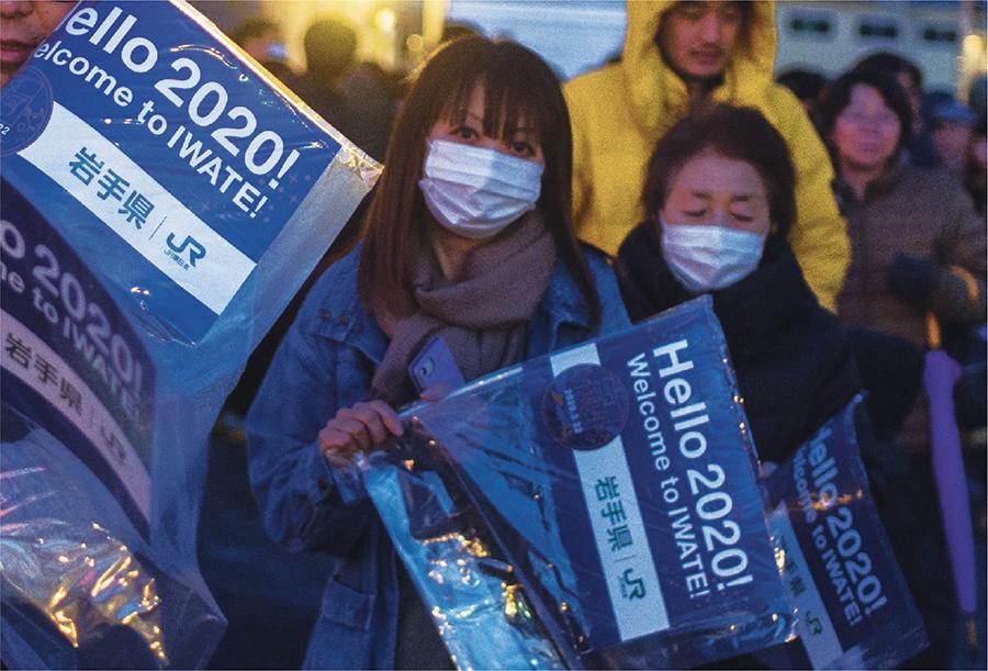 日本47個都道府縣中,由始至今只有岩手縣並未「染塵」,一直保持零確診,成日本唯一淨土。這𥚃大陸遊客比例低,到訪者多為台灣人,佔了60%,而陸人則不足10%,遠低於平均值的30%。(PHILIP FONG/AFP via Getty Images)