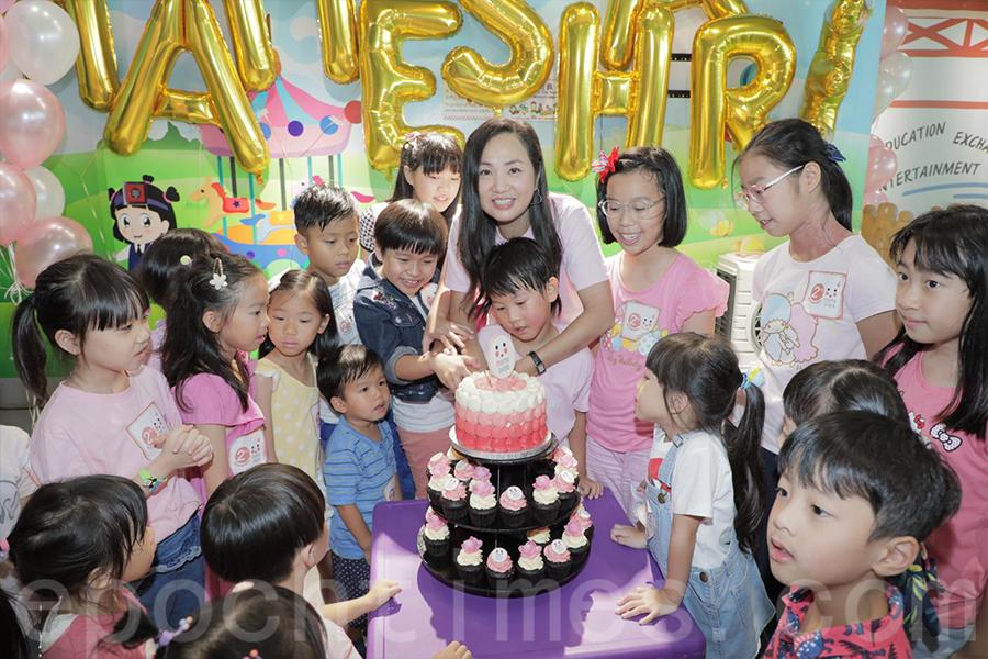 Mameshare曾經舉辦的活動,與孩子們分享歡樂。(受訪者提供)