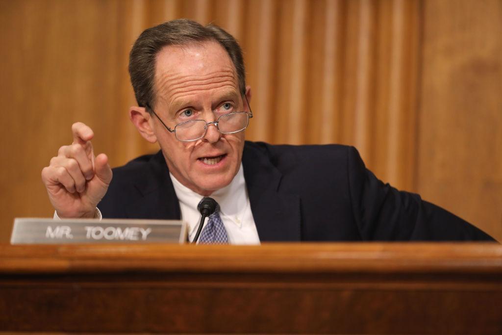 美國賓州共和黨參議員圖米。(Chip Somodevilla/Getty Images)