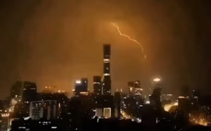 兩會北京氣象黑白顛倒 喻妖孽作惡
