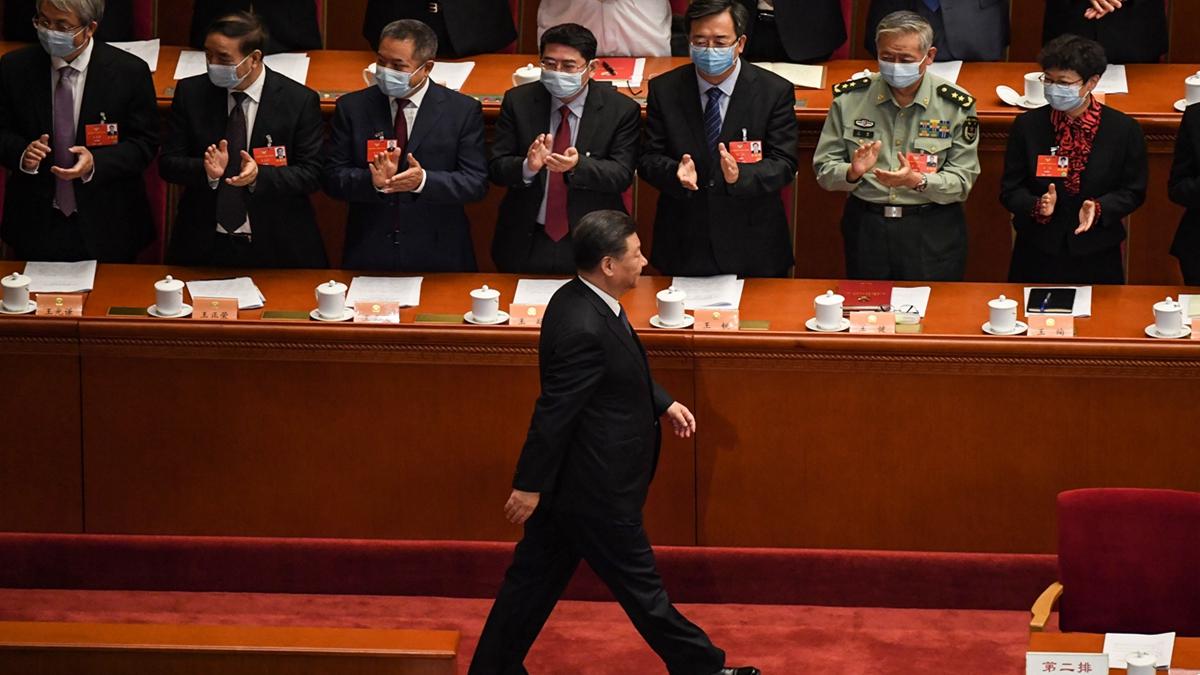 中共強推「港版國安法」,消息震驚全球。紐時認為,這是習近平馴服香港的政治豪賭。( LEO RAMIREZ/AFP via Getty Images)