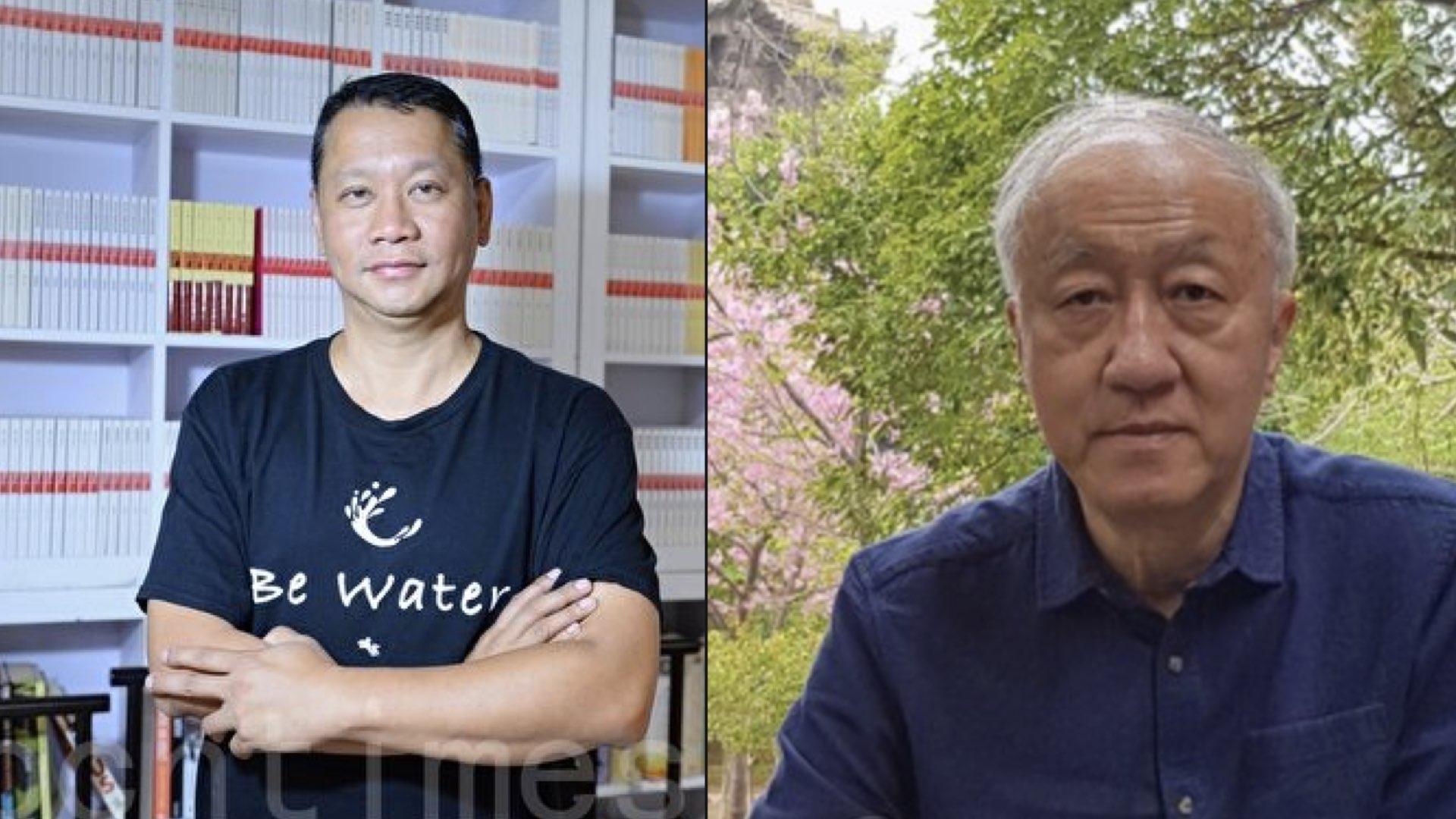 中共強推「港版國安法」,香港著名時事評論員劉細良和香港著名作家顏純鈎都認為香港現在的局勢並不糟糕。(大紀元合成圖)