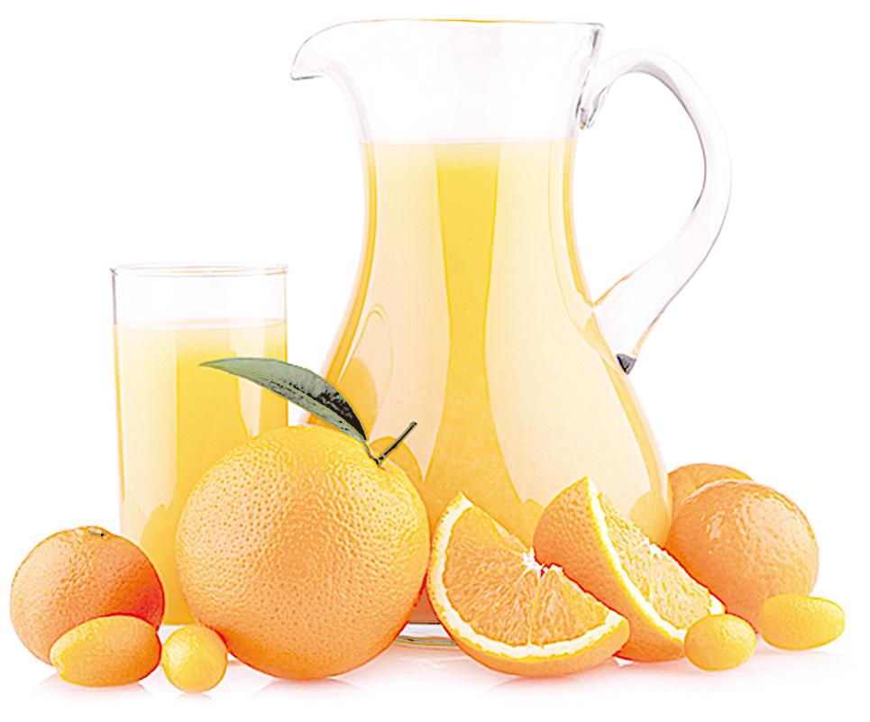 柑橘類水果含有豐富的維他命C,可預防感冒、幫助強化人體的免疫力。