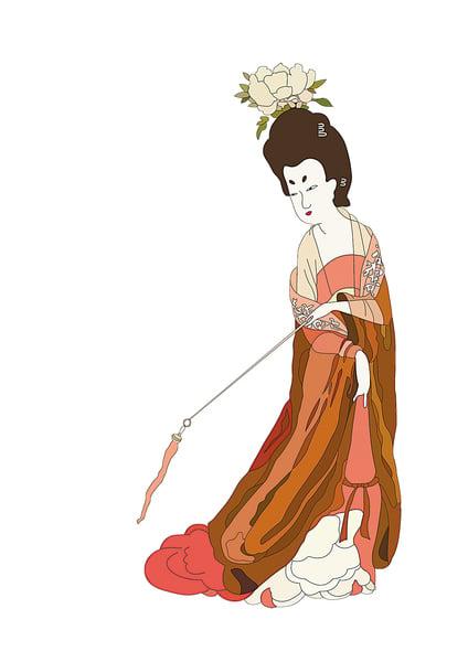 中國古代的化妝品