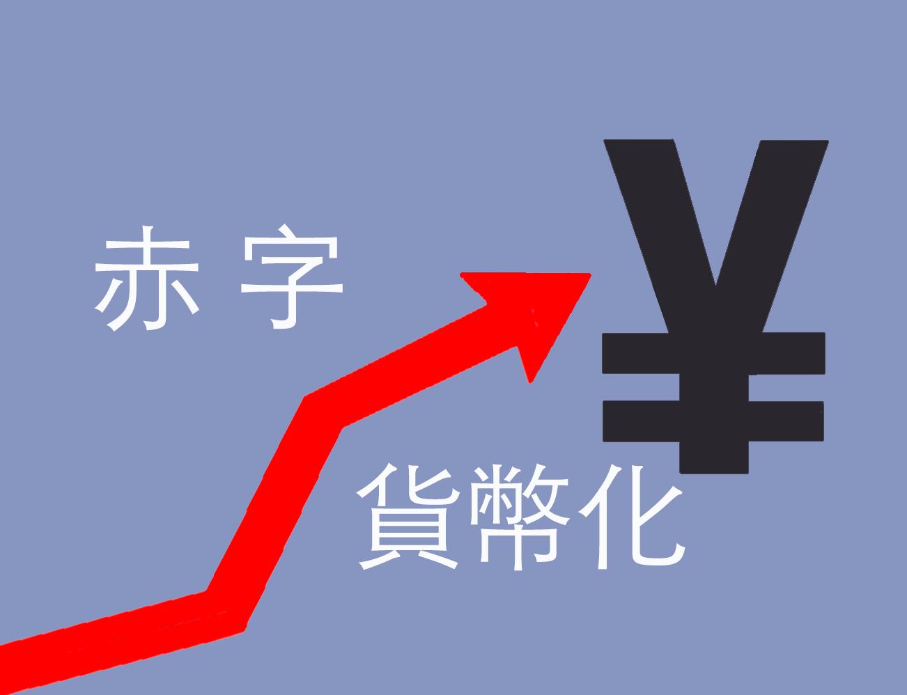 赤字貨幣化成中共兩會熱門話題。(大紀元製圖)