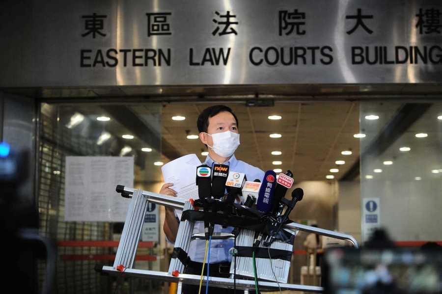 入稟私人檢控郭偉强 陳志全冀法庭還公道