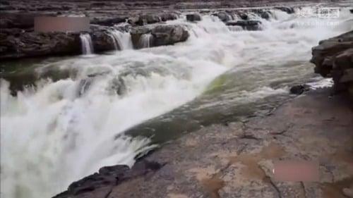 黃河水變清。(視頻截圖)