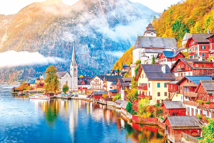 世界最美的小鎮 奧地利 哈修塔特