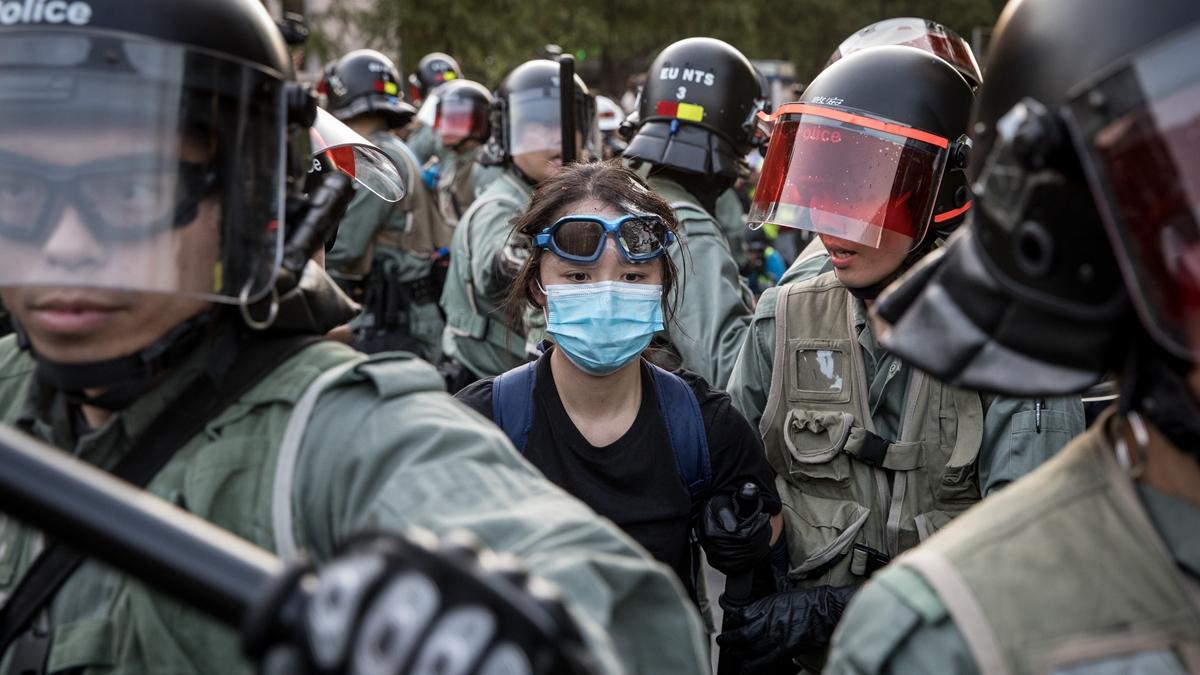 香港人爭取自由。(Getty Images)