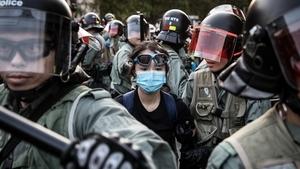 德國大報:中共威脅超疫情 香港就是西柏林