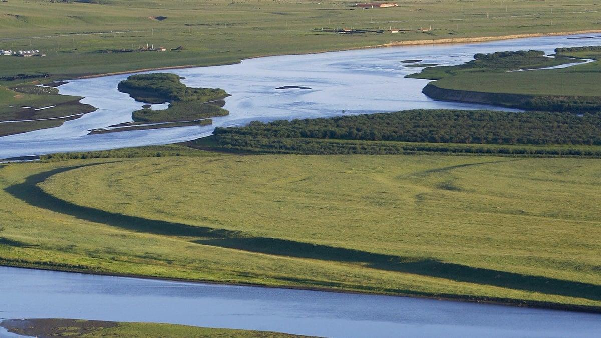 黃河是中國的第二長河,因河水黃濁而得名。如今黃河水卻突然變清了。( LIU JIN/AFP via Getty Images)