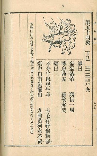 《推背圖》第五十四象。(網絡圖片)