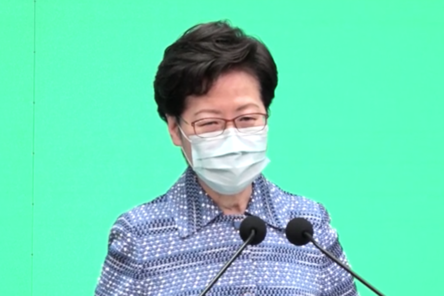 林鄭為「港區國安法」辯護 網民籲明日「大三罷」