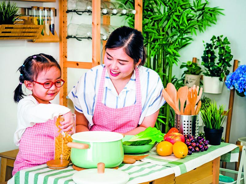 作文選登 : 學做菜