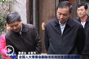 張德江轄下人大副秘書長劉水生被責令辭職