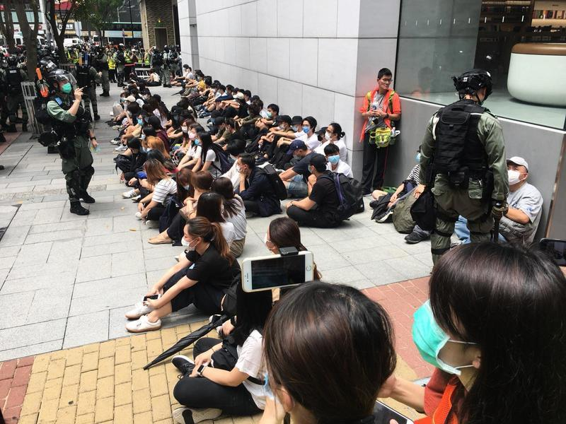 【5.27反國歌法 反國安法抗爭】無懼抗爭!香港少年衝在最前面 (不斷更新)