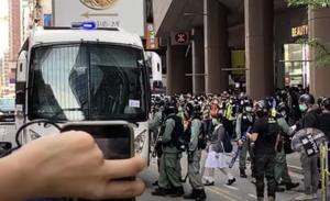 【5.27反國歌法】旺角朗豪坊抗議