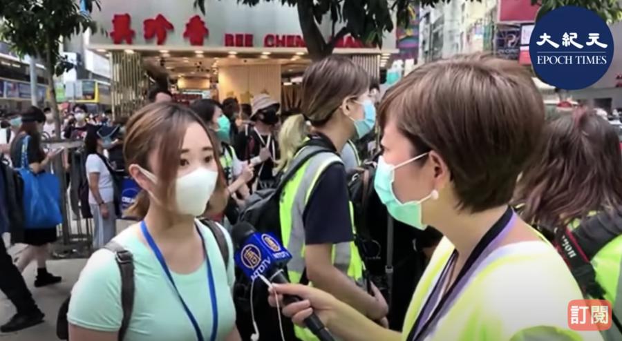 【5.27反國歌法】南區議員袁嘉蔚:是中央政府製造混亂 香港人一定會走出來