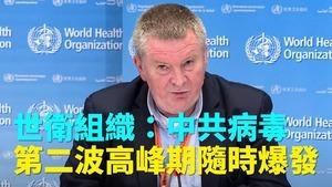 世衛組織:中共病毒第二波高峰期隨時爆發