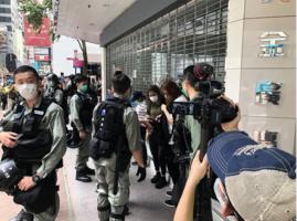 【5.27反國歌法】反國安法抗爭 3500防暴警佈防 香港少年們衝在前面