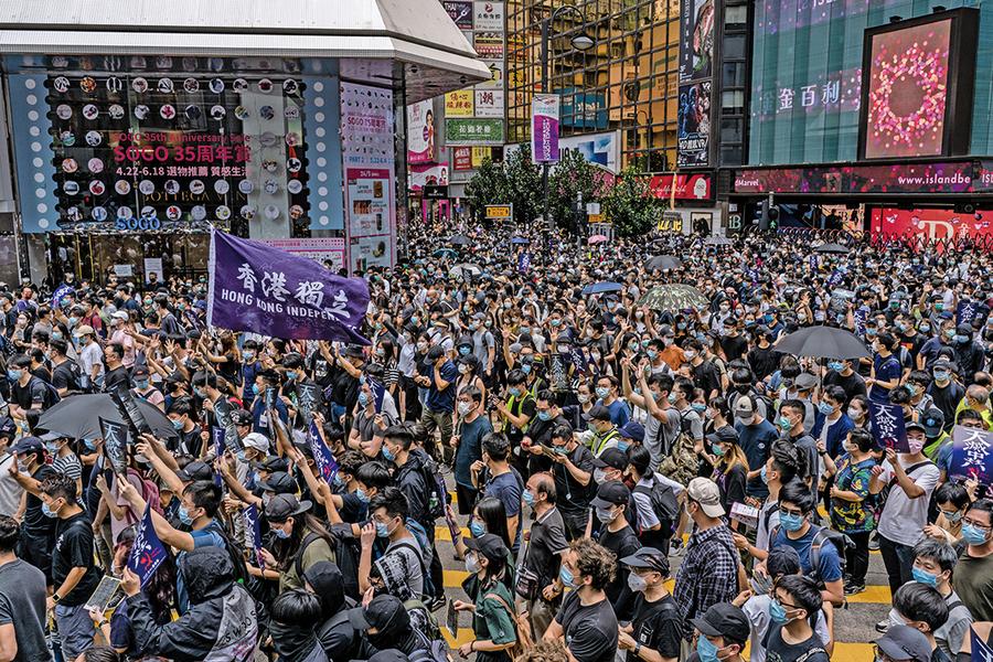 美商會促北京保持香港自治