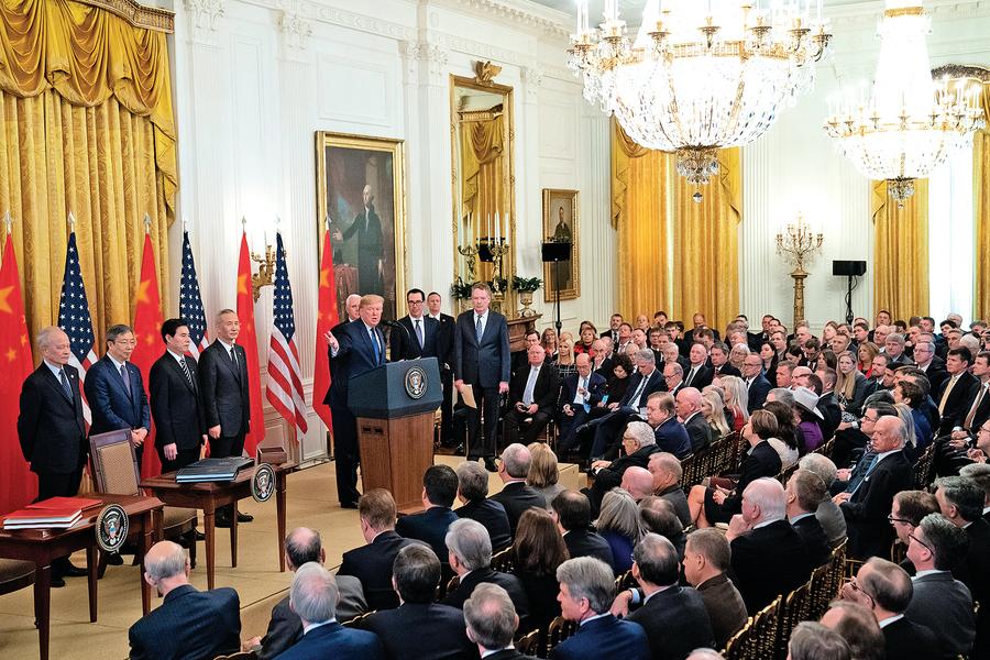 中美脫鉤和對抗全面展開   五大領域激烈交鋒