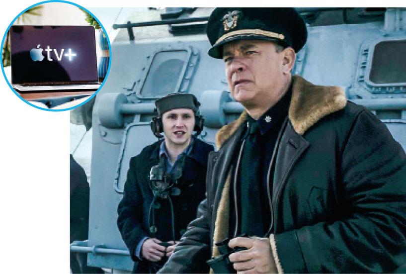 Apple TV+將買入經典影視劇 怒海戰艦在TV+上首映